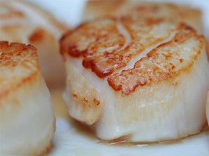 Scallop Meat $27 half kg