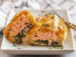 Salmon en Croute $25