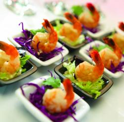 West coast seafood distributors recipes for Mini prawn cocktail canape